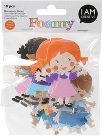FOAMY, Kinder, 18 Stk 666780300000 Bild Nr. 1