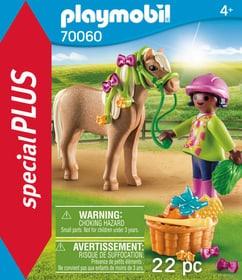 70060 Cavalière avec poney PLAYMOBIL® 748011100000 Photo no. 1