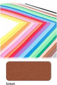 Moosgummi I AM CREATIVE 665286600000 Farbe Braun Bild Nr. 1