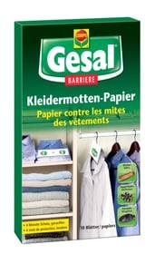 Carta antitarme per indumenti BARRIERE, 10 carte Compo Gesal 658512800000 N. figura 1