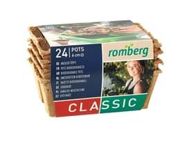 Anzuchttöpfe 6cm quadratisch Anzucht Romberg 631453200000 Bild Nr. 1