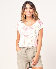 NORTH SHORE REVERSE TEE T-Shirt pour femme Rip Curl 468128700393 Taille S Couleur multicolore Photo no. 1