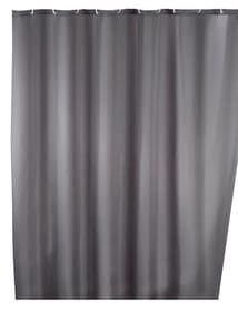 Tenda doccia tinta unita grigio antimuffa WENKO 674006200000 Colore Grigio Taglio 180 X 200 CM N. figura 1