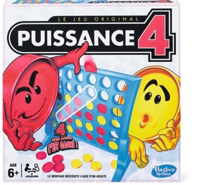 Puissance 4 (F) Hasbro Gaming 746965190100 Lengua Francese N. figura 1