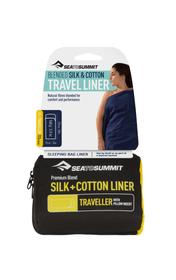 Silk/Cotton Travel Liner Traveller Hüttenschlafsack / Innenschlafsack Sea To Summit 470689600000 Bild-Nr. 1