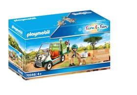 70346 Zoo-Tierart mit Fahrzeug PLAYMOBIL® 748036600000 Bild Nr. 1