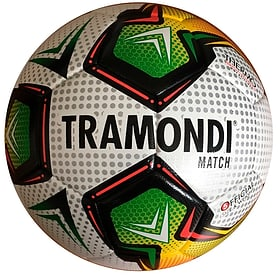 Balle de match Ballon de football Tramondi 461952700510 Taille 5 Couleur blanc Photo no. 1