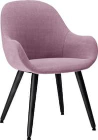 LAYLA Stuhl 403709810034 Grösse B: 56.0 cm x T: 60.0 cm x H: 84.0 cm Farbe Violett Bild Nr. 1