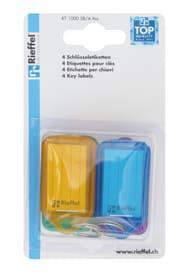 Etiketten assortiert, 4 Stk. Schlüsselanhänger Rieffel 605606200000 Bild Nr. 1