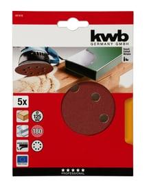 ø 125 mm, K180, 5 Stk. Schleifscheiben Holz & Metall kwb 610549800000 Bild Nr. 1