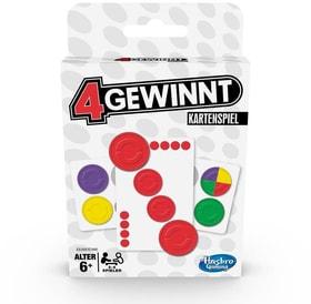 4 Gewinnt Kartenspiel (DE) Jeux de société Hasbro Gaming 748985790000 Langue _DE Photo no. 1