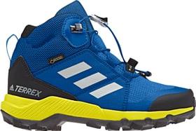 Terrex  Mid GTX Chaussures de randonnée pour enfant Adidas 465521928040 Couleur bleu Taille 28 Photo no. 1