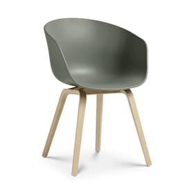 AAC 22 Stuhl HAY 366118800060 Grösse B: 52.0 cm x T: 59.0 cm x H: 79.0 cm Farbe Grün Bild Nr. 1
