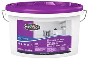 Dispersion pour cuisines et salles de bain Blanc 5 l Dispersion Miocolor 660729500000 Couleur Blanc Contenu 5.0 l Photo no. 1