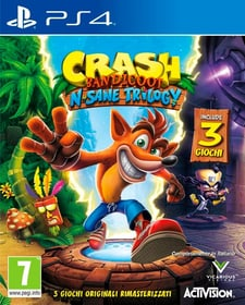 PS4 - Crash Bandicoot N. Sane Trilogy Box 785300141327 Lingua Italiano Piattaforma Sony PlayStation 4 N. figura 1