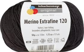 Wolle Merino Extrafine 120 Schachenmayr 665510300210 Farbe Schwarz Bild Nr. 1