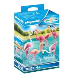 PLAYMOBIL 70351 Groupe de flamants 748036700000 Photo no. 1