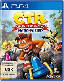 PS4 - CTR Crash Team Racing - Nitro-Fueled Box 785300141163 Langue Allemand Plate-forme Sony PlayStation 4 Photo no. 1
