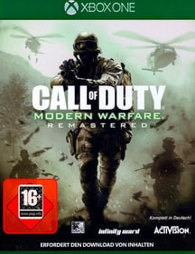 Xbox One - Call of Duty: Modern Warfare Remastered Box 785300122577 Photo no. 1