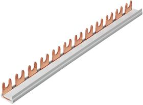 Stift-Phasenschiene, isoliert, 63A für Automaten 1P Verteilerzubehör Hager 612168900000 Bild Nr. 1
