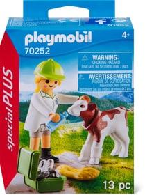 70252 Tierärztin mit Kälbchen PLAYMOBIL® 748031700000 Bild Nr. 1