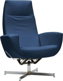 CHARLENE Fauteuil 402435607040 Dimensions L: 77.0 cm x P: 80.0 cm x H: 105.0 cm Couleur Bleu Photo no. 1