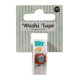 Washi Tape Bear