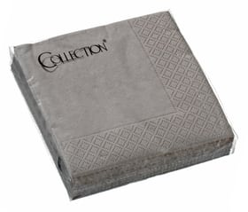 PAPER Serviettes en papier 440205602588 Couleur Taupe Dimensions L: 25.0 cm x P: 25.0 cm x H: 0.1 cm Photo no. 1