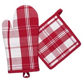 Ofenhandschuh & Topflappen Set Cucina & Tavola 700360200030 Farbe Rot Bild Nr. 1