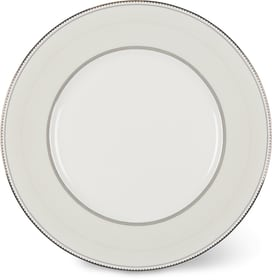 NOBLESSE Assiette Cucina & Tavola 700160400006 Couleur Blanc / Argent Dimensions H: 1.5 cm Photo no. 1