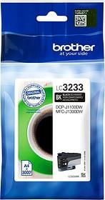 Tintenpatrone LC-3233BK schwarz Tintenpatrone Brother 798285000000 Bild Nr. 1