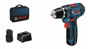 Akku-Bohrschrauber GSR 12V-15, 2 Akkus Bosch Professional 616119800000 Bild Nr. 1