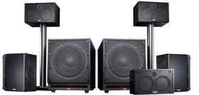System 6 THX 5.2-Set Altoparlante Home Cinema Teufel 785300137721 N. figura 1