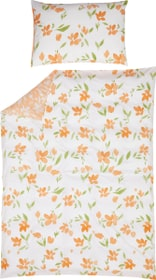 DIANA Perkal-Kissenbezug 451304010829 Farbe Apricot Grösse B: 50.0 cm x H: 70.0 cm Bild Nr. 1
