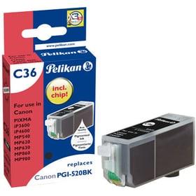 C36 PGI-520 black Tintenpatrone Pelikan 797529900000 Bild Nr. 1