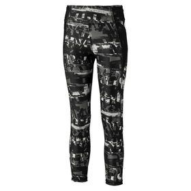 Runtrain AOP 7/8 Leggings G Leggings pour fille Puma 466935112880 Couleur gris Taille 128 Photo no. 1