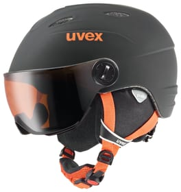 junior visor pro Kinder-Schneesporthelm Uvex 461819060420 Farbe schwarz Grösse 52-54 Bild-Nr. 1