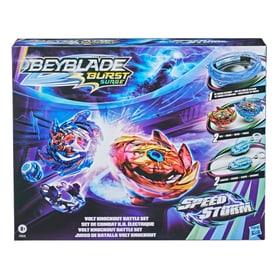 Speedstorm Volt Battleset Set di giocattoli Beyblade 747516000000 N. figura 1