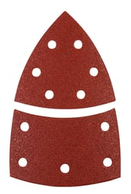 Patins abrasifs triangulaires, 100 x 62, 93 mm, K180, 5 pcs. kwb 610529800000 Photo no. 1