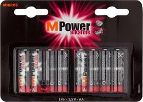 AA / LR6 8 pièces pile Batterie M-Power 704717900000 Photo no. 1