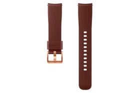 Galaxy Watch (42 mm) Silicone Band 20 mm brun Bracelet Samsung 785300138283 Photo no. 1