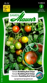 Tomate Rum. Red Stripe Gemüsesamen Samen Mauser 650174100000 Bild Nr. 1
