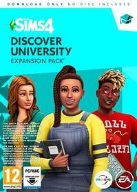 PC - Die Sims 4 Discover Unversity Expansion Pack Box 785300148428 Photo no. 1