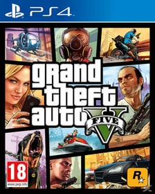 PS4 - GTA 5 Box 785300118837 Photo no. 1