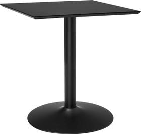 BARBASSO table de bistro 402388600000 Dimensions L: 70.0 cm x P: 70.0 cm x H: 73.0 cm Couleur Noir Photo no. 1