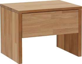 CARA Table de chevet 403406885097 Couleur Chêne / Blanc Dimensions L: 48.0 cm x P: 35.0 cm x H: 35.0 cm Photo no. 1