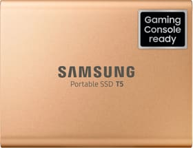 Portable SSD T5 1To Gold SSD externe Samsung 785300144523 Photo no. 1
