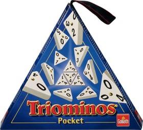 Triominos Pocket Gesellschaftsspiel Carlit 744983000000 Bild Nr. 1