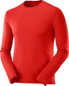 AGILE LS TEE M Laufshirt Salomon 470466900330 Grösse S Farbe rot Bild-Nr. 1