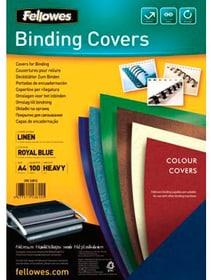 Leinenstruktur Cover A4 Binderücken Fellowes 785300150959 Bild Nr. 1